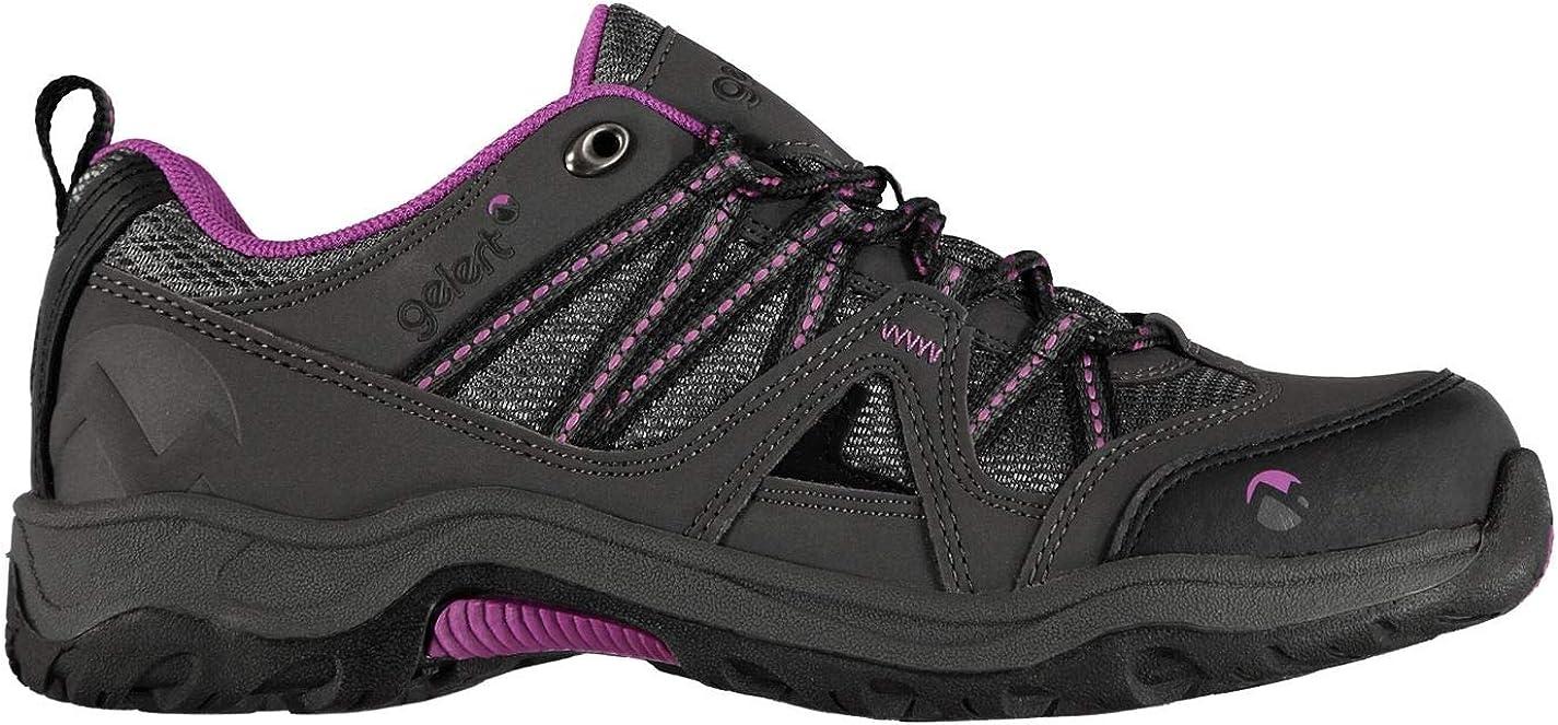Gelert Womens Ottawa Low Walking Shoes Non Waterproof Lace
