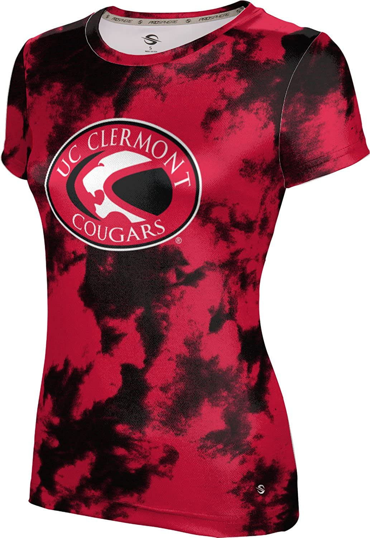 ProSphere University of Cincinnati Clermont College Girls' Performance T-Shirt (Grunge)