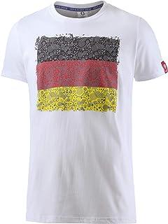 2fa75539dfc8b INTERSPORT Deutschland Fanshirt T-Shirt D'Été Lâche Hommes Blanc