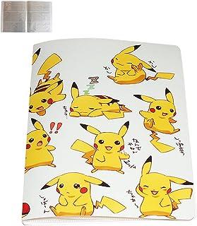 Album Compatible Con Pokemon Para Cartas Album Compatible Con Pokemon Carpeta compatible con Cartas Pokemon Album compatible con Cartas de Pokemon /Álbum de Pokemon 324-Pikachu