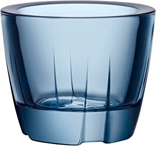 Kosta Boda Bruk Anything Bowl/Votive, Water Blue, One Size