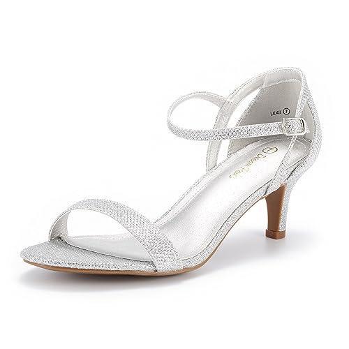 0a6ab22edc49c3 DREAM PAIRS Women s Lexii Fashion Stilettos Open Toe Pump Heel Sandals