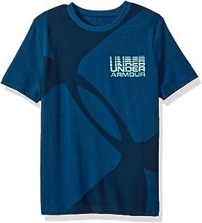 Under Armour Boys Mega Duo Logo Short sleeve Tee