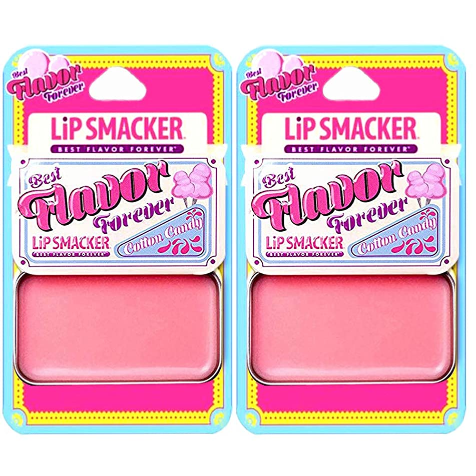 Lip Smackers Vintage Slider Lip Balm, Cotton Candy, 0.63 oz / 18 g (Pack of 2)