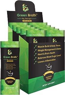 Organic Pea Protein • 10 Sachets • Vegetable Bouillon Natural Flavor • Keto • Non-GMO • Broth by Design