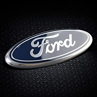 "2005-2014 Ford Emblem Front grill Ford Decal F150 Tailgate Emblem 9in 9"" X 3.5"" for Truck & SUV Dark Blue (Dark Blue)"
