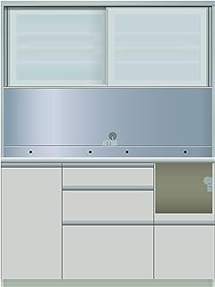 パモウナ 食器棚ME シルキーアッシュ 幅140×高さ187×奥行45 日本製 MER-S1400R