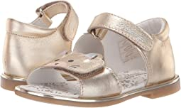6167d366881523 Girls Gold Sandals + FREE SHIPPING