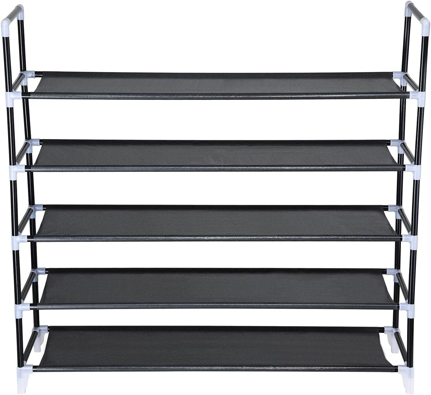 25 Time sale Pair 5-Tier Shoe Rack Stand Ranking TOP1 Spave Save Storage Shel Organizer