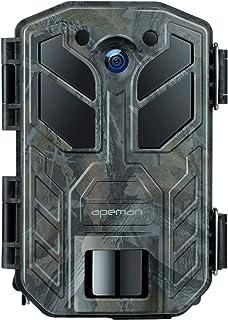 APEMAN Cámara de Caza 20MP 1080P HD 40 IR LED Trail Cámara de juego para nítido tiro nocturno y visión hasta 65 pies IP66 ...