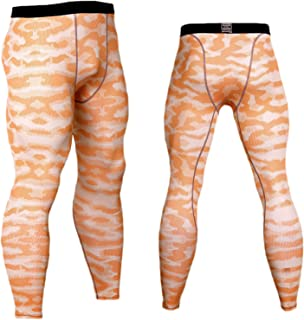 Men's Outdoors Compression Pants Running Tights Pants Fashion Fitness Pants