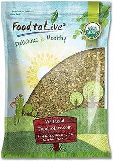 Organic Pepitas / Pumpkin Seeds, 12 Pounds – No Shell, Non-GMO, Kosher, Raw, Vegan