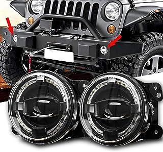 Suchergebnis Auf Für Jeep Wrangler Jk Nebelscheinwerfer Zubehör Leuchten Leuchtenteile Auto Motorrad