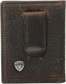 Ariat - Ariat Shield Bi-Fold Money Clip