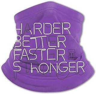 Harder Better Faster Stronger Pu-Nk Teens Ice Silk Bib Variety Face Towel