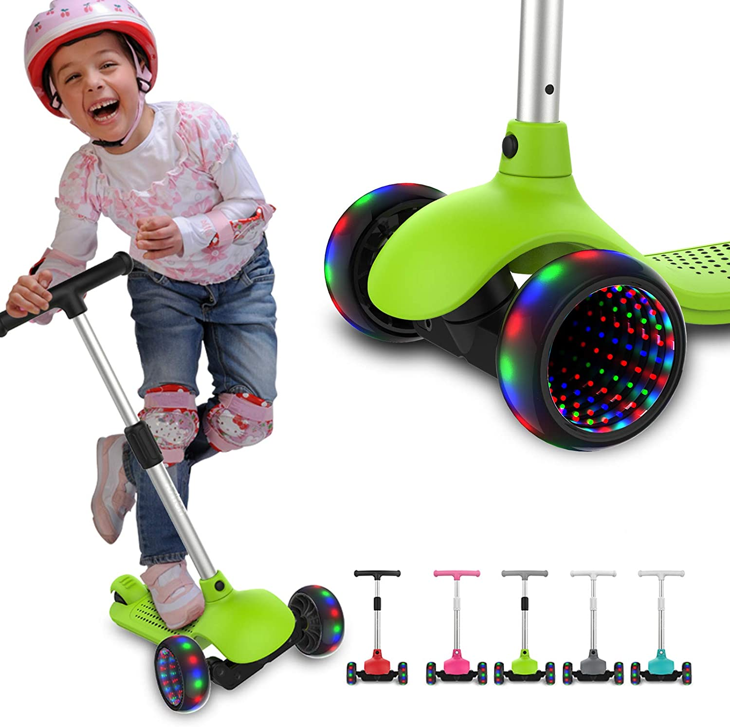 ASITON Children's Scooter 3-Wheel Kick 5 ☆ popular Years 3-6 Bab Old Be super welcome