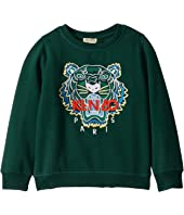 Kenzo Kids - Embroidered Tiger Sweatshirt (Little Kids)