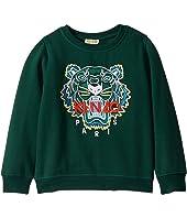 Kenzo Kids - Embroidered Tiger Sweatshirt (Little Kids)