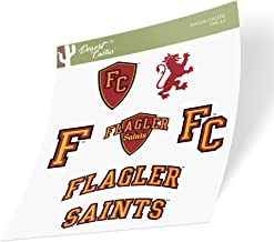 Desert Cactus Flagler College Saints NCAA Metal License Plate Frame for Front or Back of Car Officially Licensed Alumni