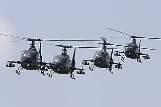 Stocktrek Serbian Air Force Soko SA-342L GAMA Choppers Wall Decal 16