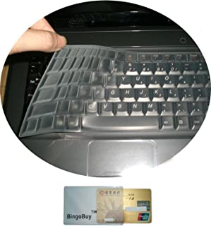 Saco Chiclet Keyboard Skin for Lenovo IdeaPad B470 Transparent