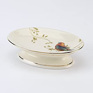 Avanti Linens Gilded Birds Soap Dish