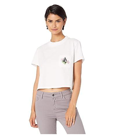 Volcom Stone Grown T-Shirt (White) Women