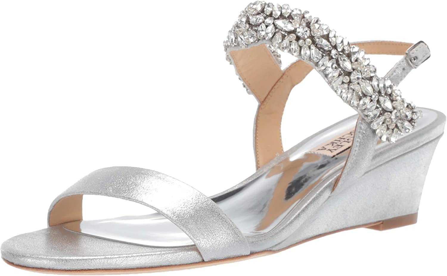 Challenge the lowest price Badgley Mischka Women's Larisa Wedge Sandal Complete Free Shipping