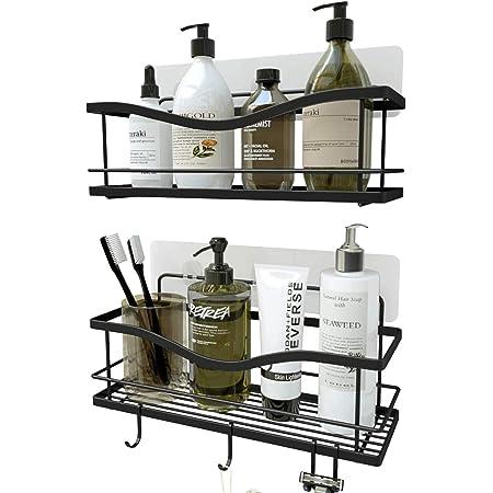 Details about  /New Corner Organizer Bathroom Caddy Shelf Drain Kitchen Storage Rack SL