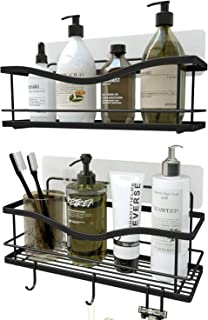 KINCMAX Shower Caddy Bathroom Shelf, No Drilling Traceless Adhesive Bathroom Storage..