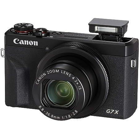Canon PowerShot Digital Camera [G7 X Mark III] with Wi-Fi & NFC, LCD Screen and 4K Video - Black (Renewed)