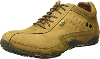 Woodland Men's Leather Nubuck Sneakers