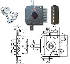 Potent 495/S pompslot drievoudig S/A links