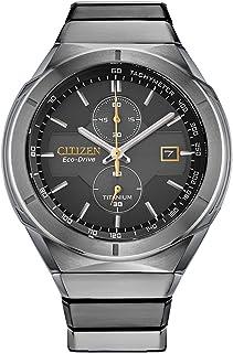 ساعت مچی مردانه Citizen Eco-Drive Super Titanium Armor Chronograph CA7058-55E