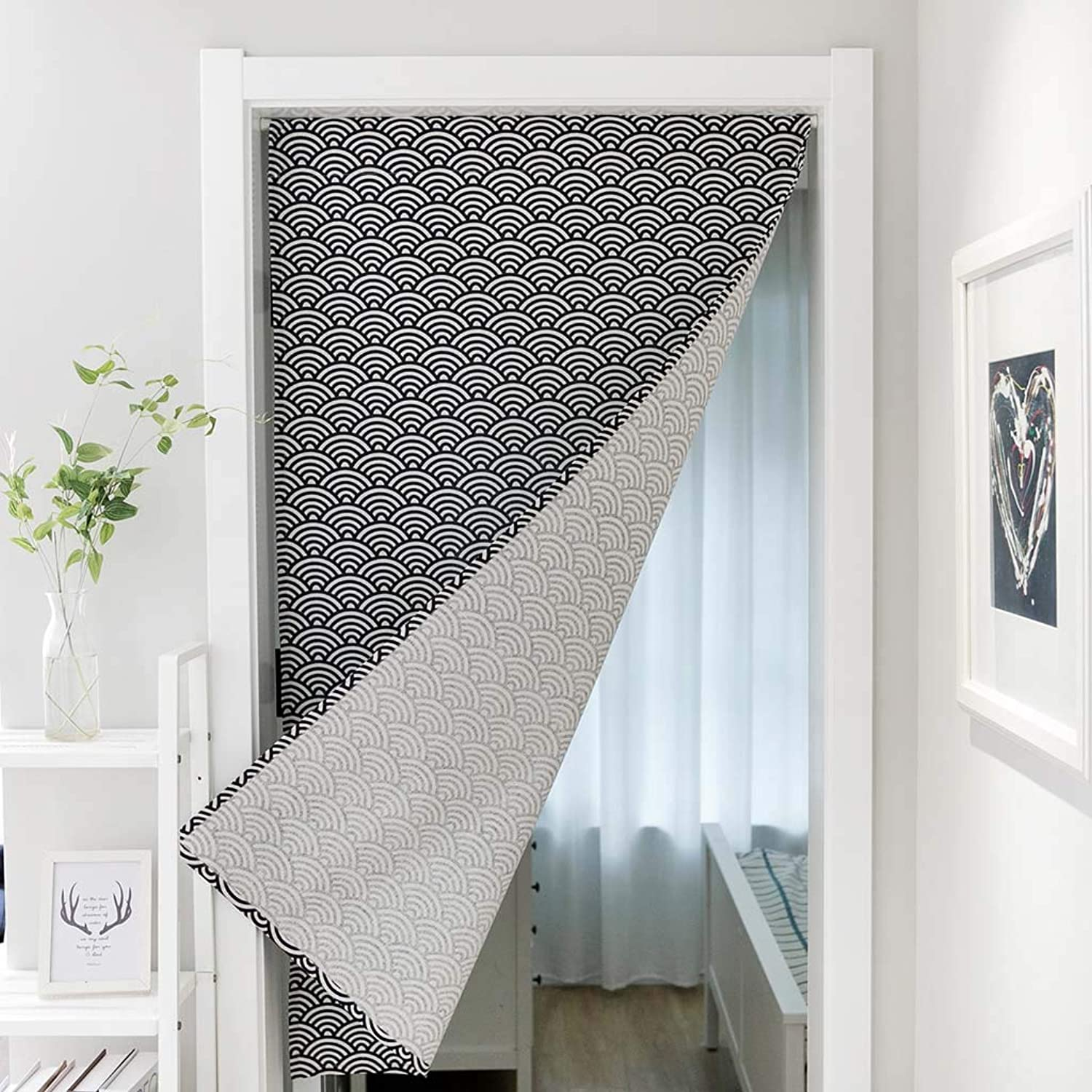 Partition Curtain Geometric Cotton Curtain Curtain Curtain partition Curtain Fabric Curtain,10,70  140