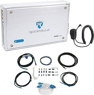 Rockville RXM-S20 Micro Marine/ATV Amplifier 1600w Peak 4 Channel 4x100W+Amp Kit