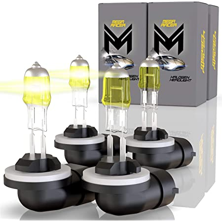 881 Halogen Upgrade Fog Light Bulb Xenon Yellow Replace 886//889//894//896//898 Y304