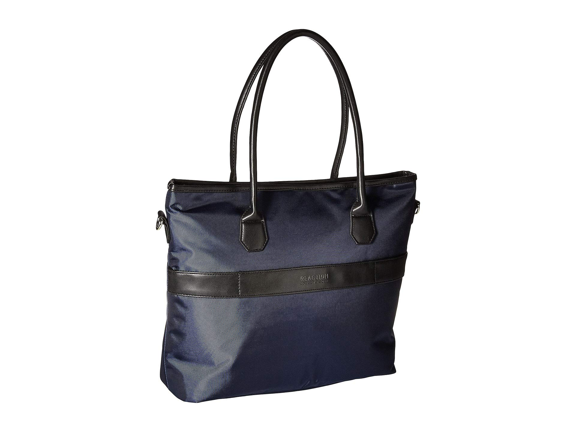 Cole Chevron Polyester Kenneth Navy Tote Reaction Twill BxSdI