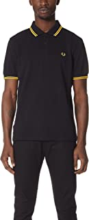 Fred Perry Mens TWIN TIPPED FRED PERRY SHIRT Shirts