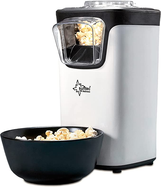 322 opinioni per SUNTEC Macchina per popcorn ad aria calda POP-8618 fat free [Gustosi popcorn