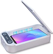 Phone Sanitizer Uv Portable Smart Phone Sterilizer Uv Light Cell Phone Cleaner With Wireless Charging Aromatherapy Functio...