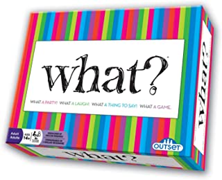 What Party Game - Answer Silly Questions & Guess Who Said What - The Ultimate Laugh Out Loud Board Game (Features 288 Ques...