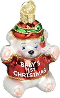 Best baby's first christmas glass ornament Reviews