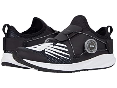 New Balance Kids FuelCore Reveal (Big Kid) (Black/White) Boys Shoes