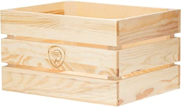 wooden bicycle crate