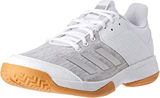adidas WoMen's Ligra 6 Shoes, Footwear White/Silver Metallic/Grey Two, 8.5 US (8.5 AU)