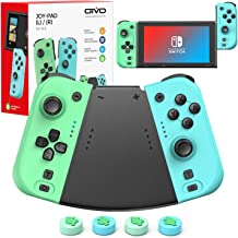 $39 » KDD Joy Controller for Switch, Switch Controller Replacement Split Pad Pro with Ergonomic Handle Grip, Support Turbo/Dual ...