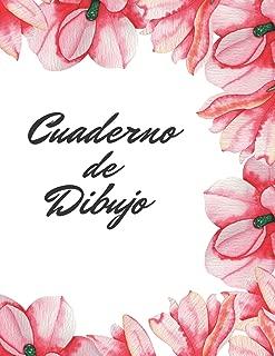 CUADERNO DE DIBUJO: BONITO CUADERNO PARA DIBUJAR. REGALO CREATIVO Y ORIGINAL. 100 PAGINAS EN BLANCO, GRAN TAMAÑO. (Spanish Edition)