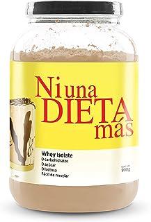 NI UNA DIETA MÁS - proteína whey isolate (delicioso