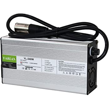 Amazon Com Yzpower Charger Output 54 6v 4a Charger 3 Pin Xlr Connector Power For Health Care Lithium Battery Bottle 48v Adapter Plug Home Audio Theater